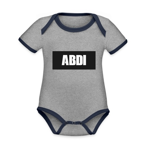 Abdi - Organic Baby Contrasting Bodysuit