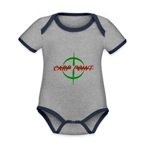 Carp Point T-Shirt - Baby Bio-Kurzarm-Kontrastbody