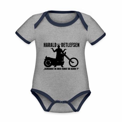 Harald Detlefsen - Baby Bio-Kurzarm-Kontrastbody
