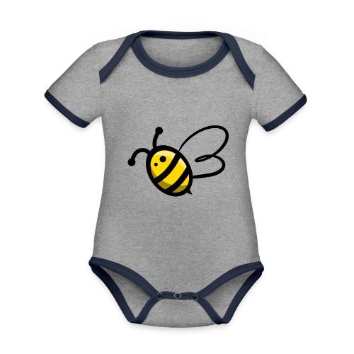 Bee b. Bee - Organic Baby Contrasting Bodysuit