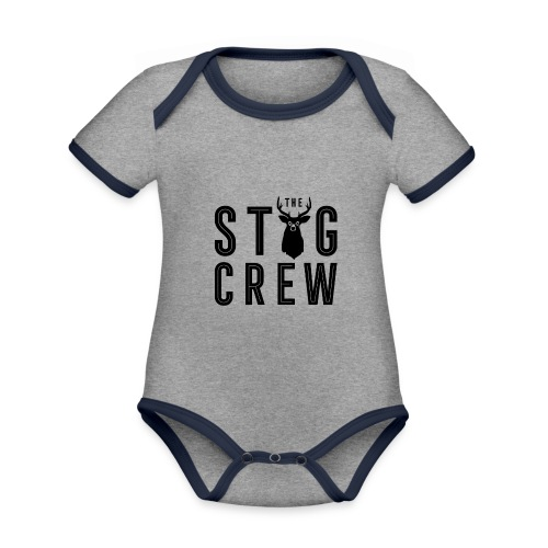 THE STAG CREW - Organic Baby Contrasting Bodysuit