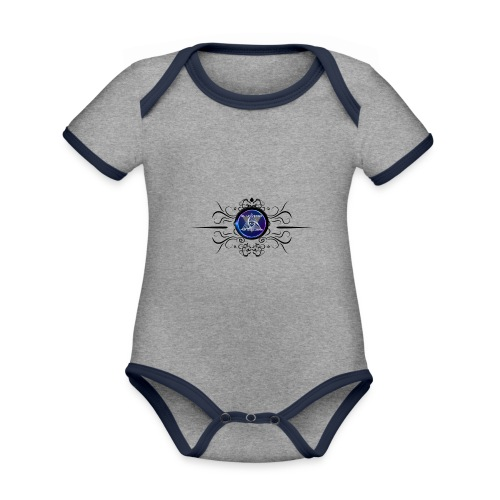 EUPD NEW - Organic Baby Contrasting Bodysuit