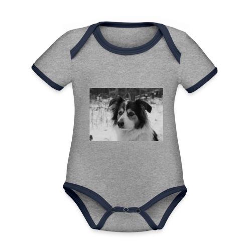 Skippy Winter - Baby Bio-Kurzarm-Kontrastbody