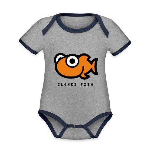 Cloned Fish - Organic Baby Contrasting Bodysuit