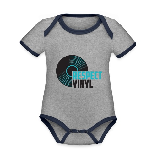 Blue Note • Respect Vinyl - Baby Bio-Kurzarm-Kontrastbody