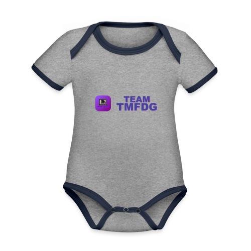 Team TMFDG | Collection 2020 - Body Bébé bio contrasté manches courtes