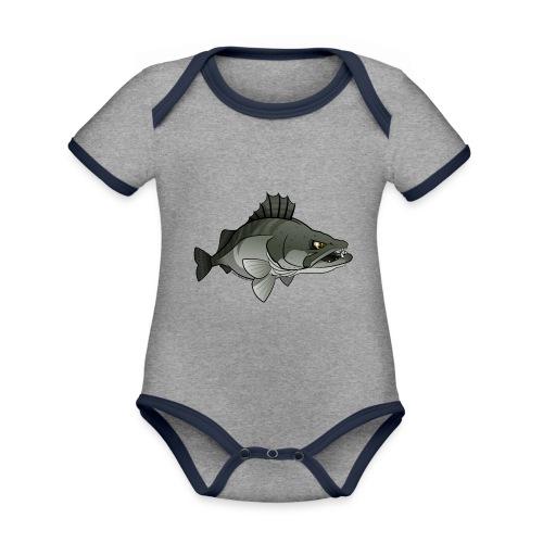 Red River: Zander - Organic Baby Contrasting Bodysuit