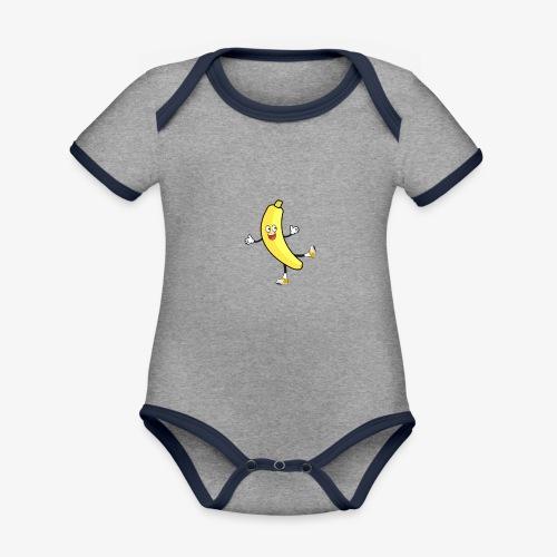 Banana - Organic Baby Contrasting Bodysuit