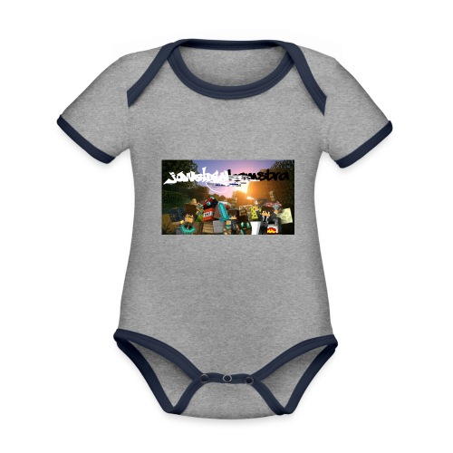 6057231244D88B5F5DED63C6F58FB0122038CBC7A63A50B55 - Organic Baby Contrasting Bodysuit