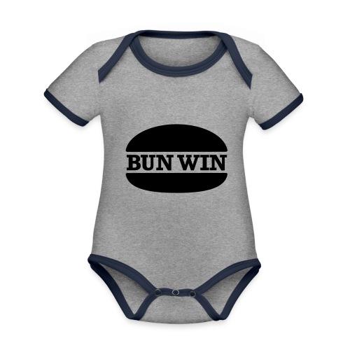 bunwinblack - Organic Baby Contrasting Bodysuit