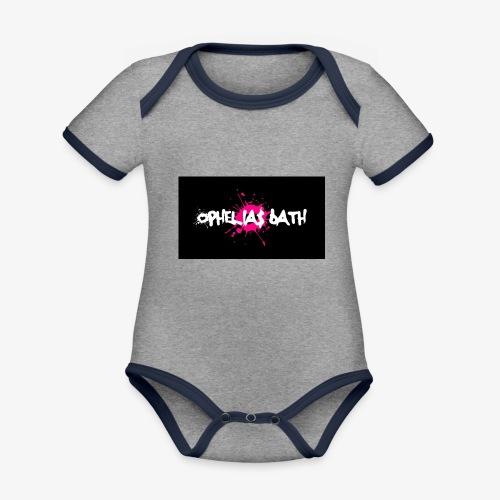 LogoTrial - Baby Bio-Kurzarm-Kontrastbody