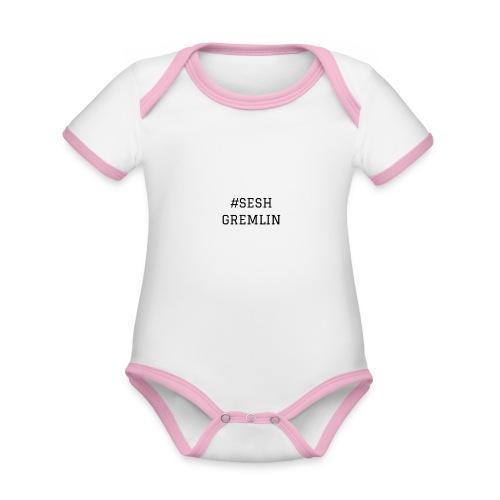 #SESHGREMLIN - Organic Baby Contrasting Bodysuit