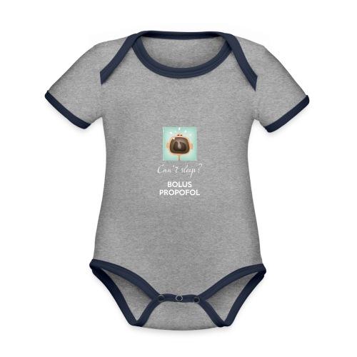 78 - Baby Bio-Kurzarm-Kontrastbody