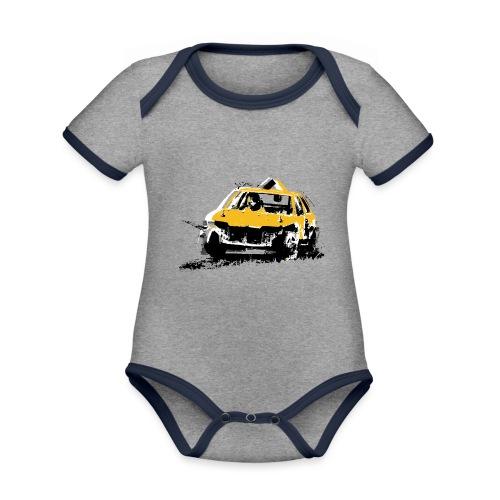 StockCar - Organic Baby Contrasting Bodysuit