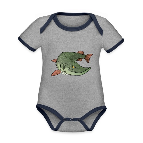 Red River: Pike - Organic Baby Contrasting Bodysuit