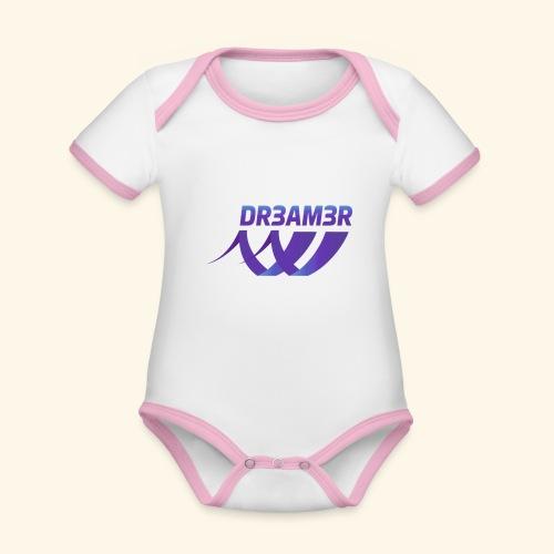 DR3AM3R - Vauvan kontrastivärinen, lyhythihainen luomu-body