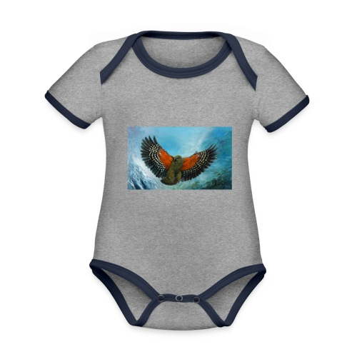123supersurge - Organic Baby Contrasting Bodysuit