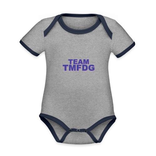 Collection : 2019 Team TMFDG - Body Bébé bio contrasté manches courtes