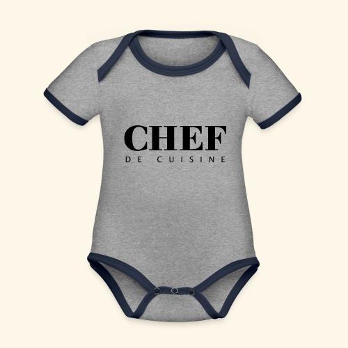 BOSS de cuisine - logotype - Organic Baby Contrasting Bodysuit