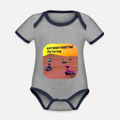 Leben auf dem Mars - Organic Baby Contrasting Bodysuit