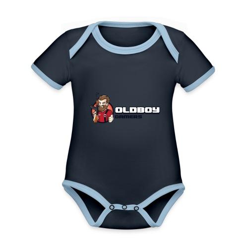Oldboy Gamers Fanshirt - Økologisk kortermet kontrast-babybody