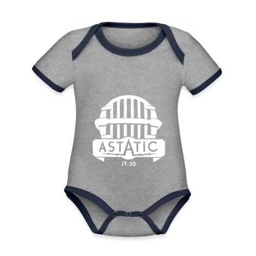 Astatic JT-30 logo - Organic Baby Contrasting Bodysuit