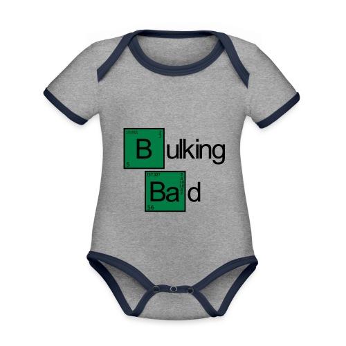Bulking Bad - Baby Bio-Kurzarm-Kontrastbody