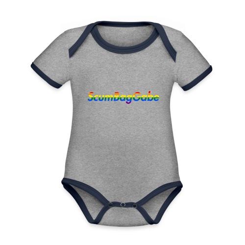 ScumBagGabe Multi Logo XL - Organic Baby Contrasting Bodysuit