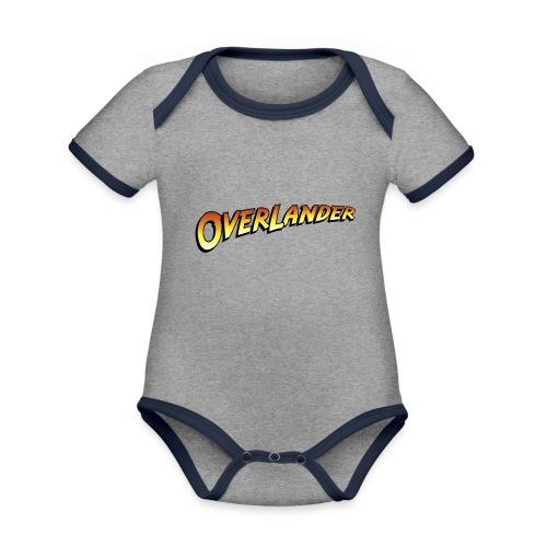 overlander0 - Økologisk kortermet kontrast-babybody