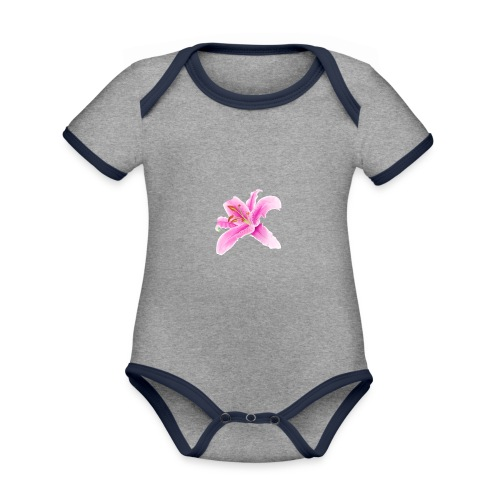 Lily - Organic Baby Contrasting Bodysuit