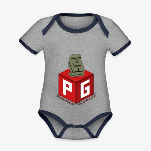Preikestolen Gamers - Økologisk kortermet kontrast-babybody