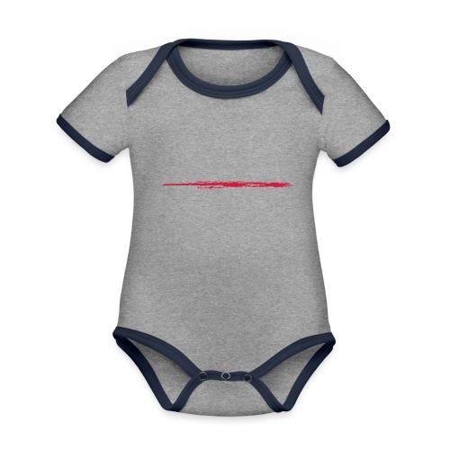 Linie_01 - Baby Bio-Kurzarm-Kontrastbody