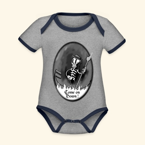 COME ON DOWN! - Organic Baby Contrasting Bodysuit