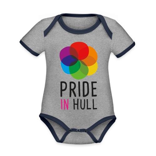 Pride in Hull - Organic Baby Contrasting Bodysuit