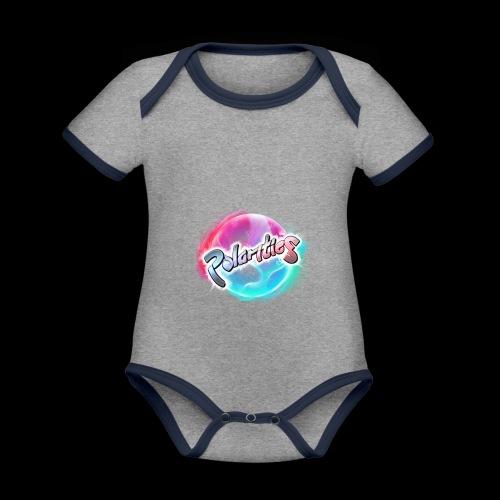Polarities Logo - Organic Baby Contrasting Bodysuit