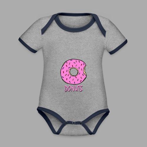 DONUTS - Body contraste para bebé de tejido orgánico