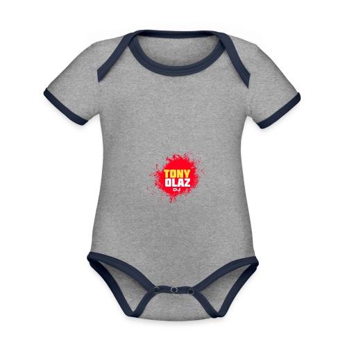 Marca Tony Olaz dj - Body contraste para bebé de tejido orgánico