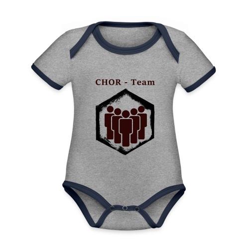 ChorTeam - Baby Bio-Kurzarm-Kontrastbody