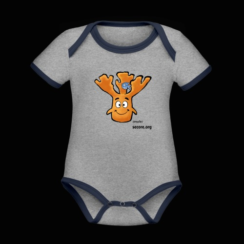Al Moose - Organic Baby Contrasting Bodysuit