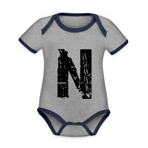 n 28 days later - Baby Bio-Kurzarm-Kontrastbody
