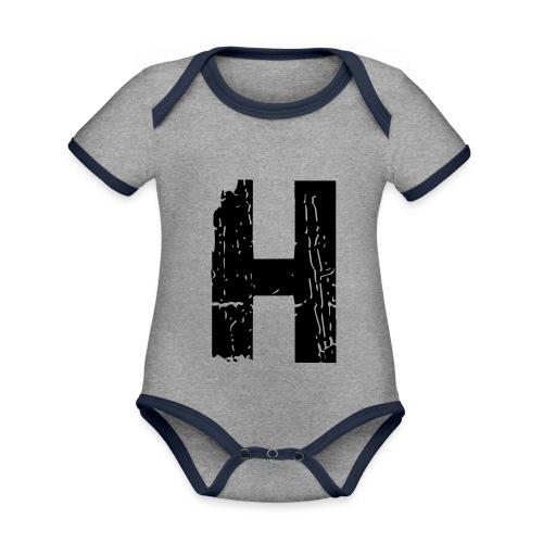 h 28 days later - Baby Bio-Kurzarm-Kontrastbody