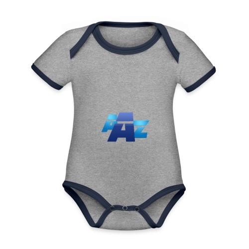 Logo unique - Body Bébé bio contrasté manches courtes