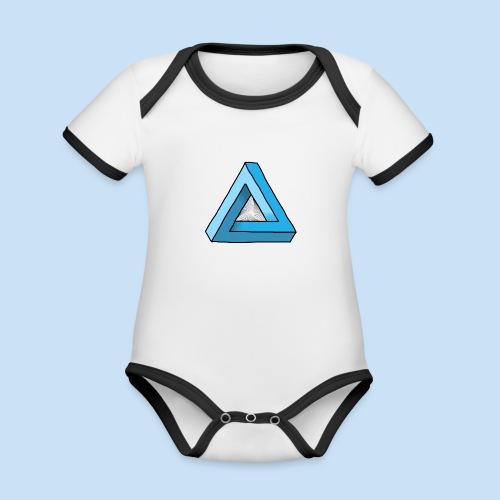 Triangular - Baby Bio-Kurzarm-Kontrastbody