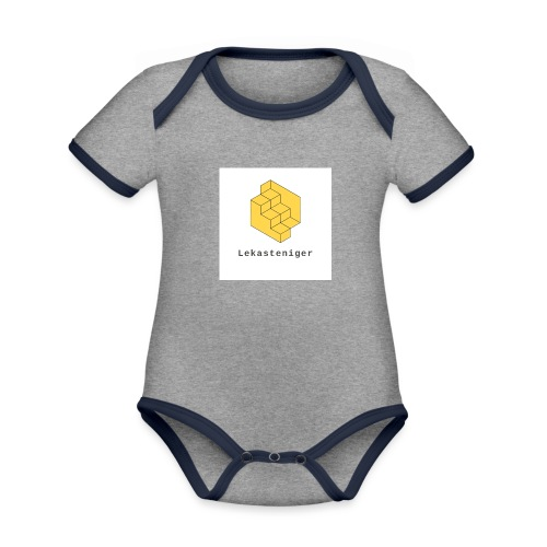 Lekasteniger - Baby Bio-Kurzarm-Kontrastbody