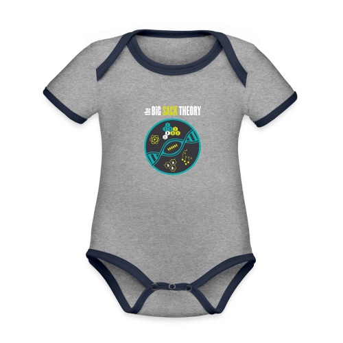 The Big Sack Theory - Baby Bio-Kurzarm-Kontrastbody