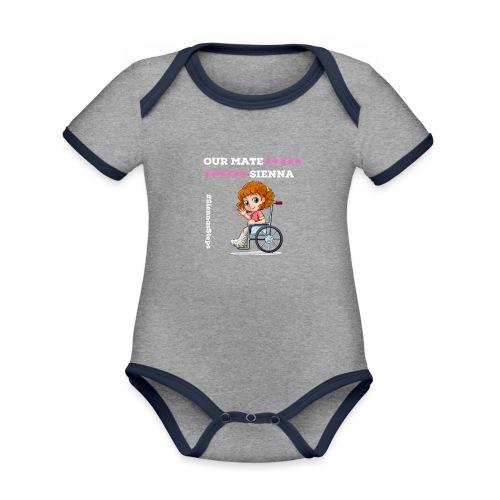 Our Mate SIENNA Dark Range 1 - Organic Baby Contrasting Bodysuit