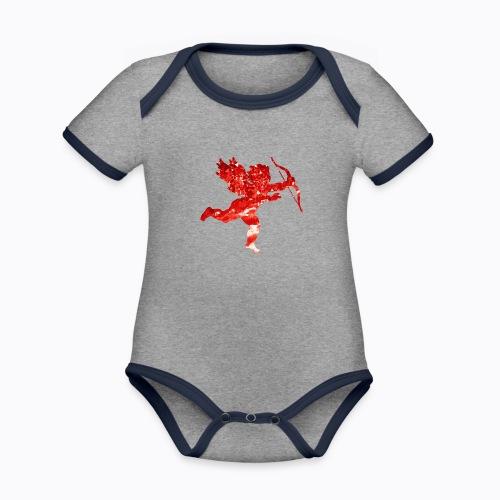 cupid - Organic Baby Contrasting Bodysuit