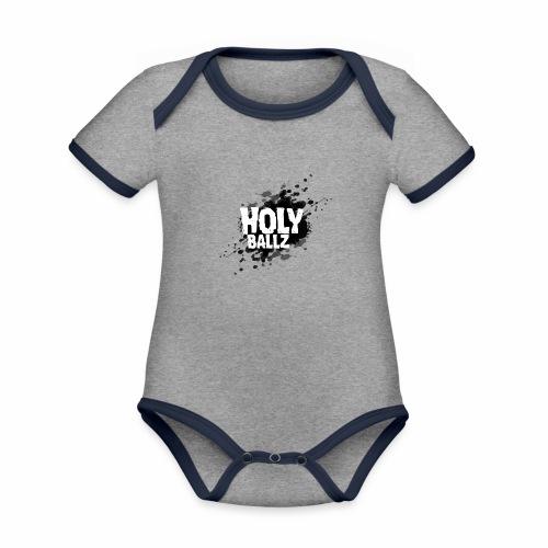 Holy Ballz - Organic Baby Contrasting Bodysuit