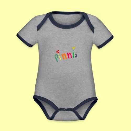 Pinni® Desing - Baby Bio-Kurzarm-Kontrastbody