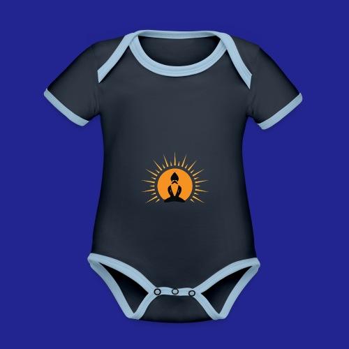 Guramylife logo black - Organic Baby Contrasting Bodysuit